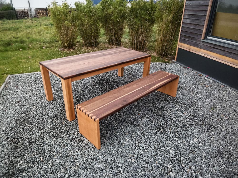 Tisch Mit Bank Garten Garten Bank Tisch Er Er Jahre With Tisch Mit